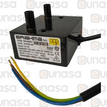 Transformador 230V 50/60Hz 55VA TC2STCAF