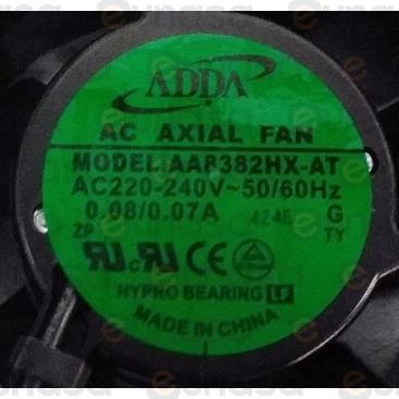 Axial Fan 230V 50/60Hz 80x80x38mm