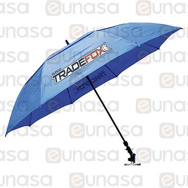 Parasol 150cm C/IMÁN Unidad Externa Tradefox