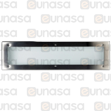Luminaria Led 974x260x114mm 53W