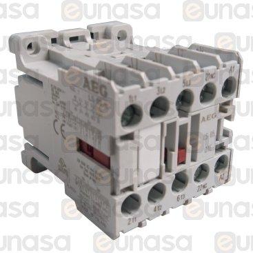 Contactor 230V 9A 4kw 3NO/1NC