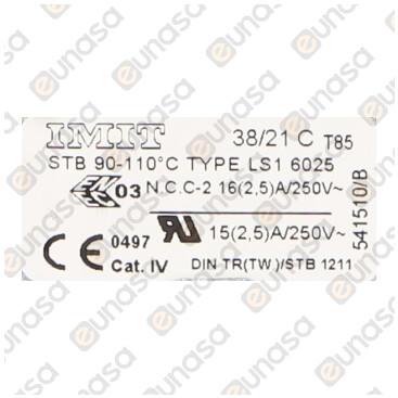 Termostato Seguridad Calderin +90/+110ºC