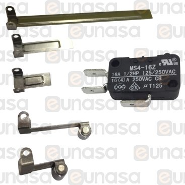 Microswitch With Lever Kit 16A 230V
