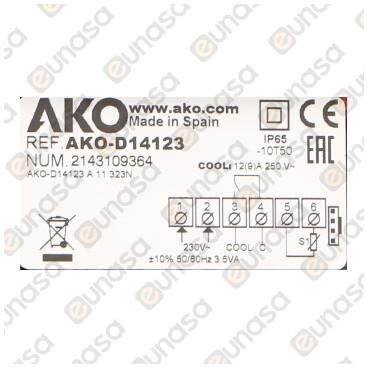 Termostato -50+99ºC 1 Relé 230V Ac D14123