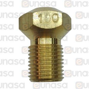 Inyector  Ø1mm Glp M10x1