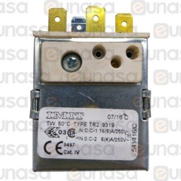 Termostato Cuba 50ºC Bulbo Roscado M14X1