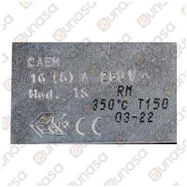 Termostato Seguridad Horno 350ºC 230V 16A