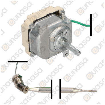 Bain Marie THREE-PHASE Thermostat 30-93ºC