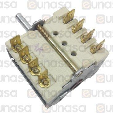 Interruptor 4 Posiciones 16A 250V Serie 900
