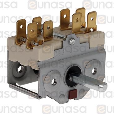 Interruptor 4 Posiciones 2NO 16A 230V