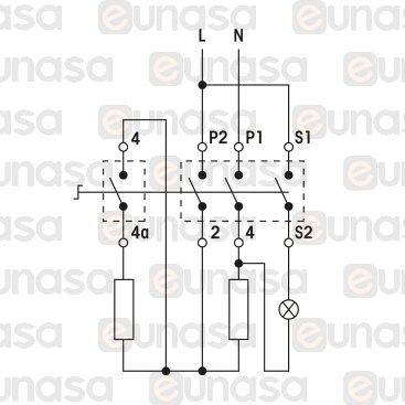 Regulador Energia 13A 240V Interruptor 1 Polo