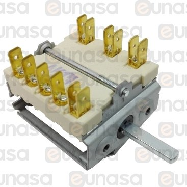 Interruptor 7 Posiciones 16A 250V
