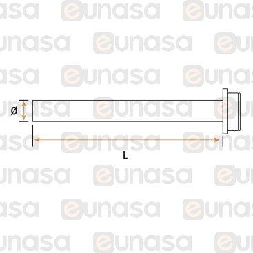 Resistencia De Cartucho 230V 2000W Ø30mm 300