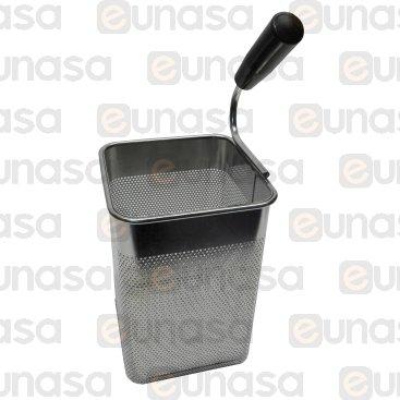 Cesta Cuece Pastas Gn 1/6 - 140x140x205mm Der