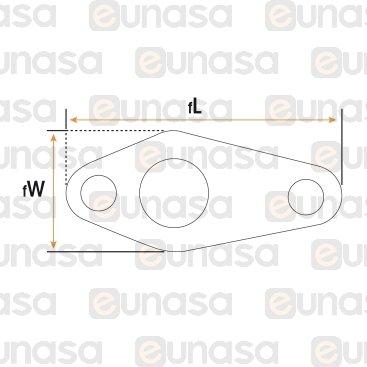 Bujia Encendido Redonda Horno Ø9.5x60mm