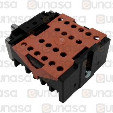 Commutator Switch 7 Positions 16A 230V