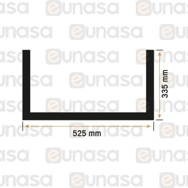 Burlete Puerta Horno 525x335mm