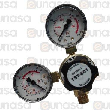 Regolatore TST-601D-10-OX Oxygen 10Bar
