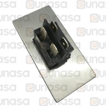 Interruptor Negro 10A 250V
