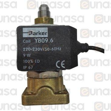 Electroválvula 3 Vías 230V Con Cable Ruby