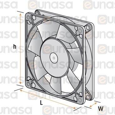 Ventilador Axial 24V Dc 1.2W 2500rpm 60x60mm