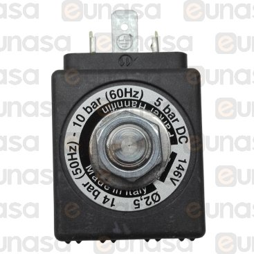 "2-WAY Solenoid Valve 1/4""Fx1/4""F 230V Lucifer"
