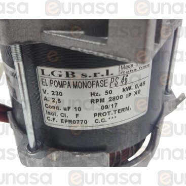 Bomba Aumento De Presión 0.6HP 230V 50Hz