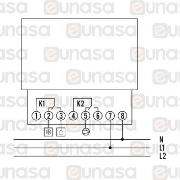 Temporizador Descarche S/CAJA 230V FRI77G-2