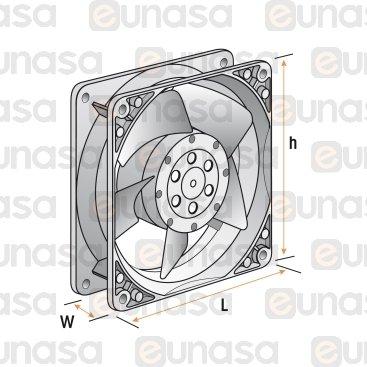 Axial Fan 230V 50/60Hz 2650rpm 120x120mm