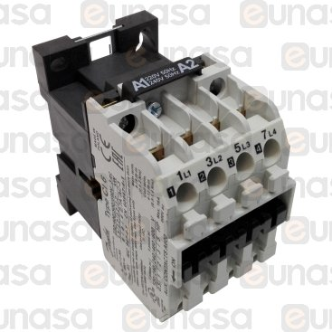 Contactor 230V 20A 4NO AC3 400V 2.2k 6A