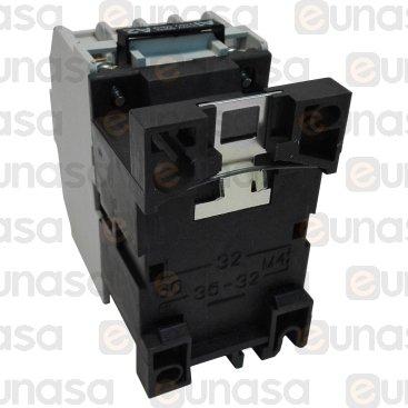 Contactor 230V 25A 4NO Tipo CI12