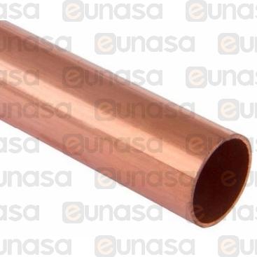 Tuberia Cobre Aislado 3/8x0.8mm Rollo 50mts