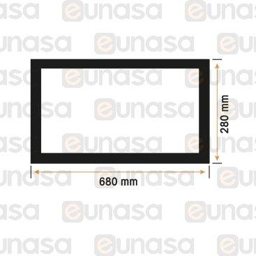 Burlete Puerta Horno 36PX-UMI  680x280m