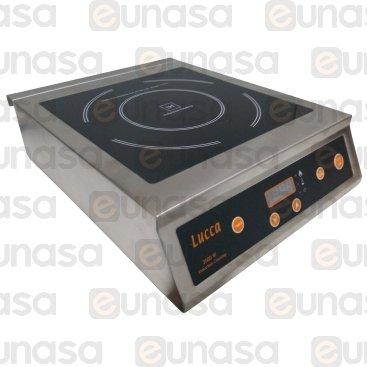 Cocina Inducción 3500W 230V Ø26mm Lucca