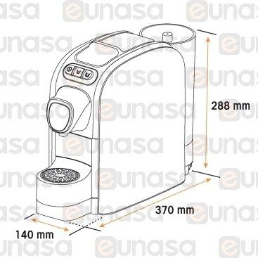 Máquina Café Cápsulas Fap 230V 1100W Blanca