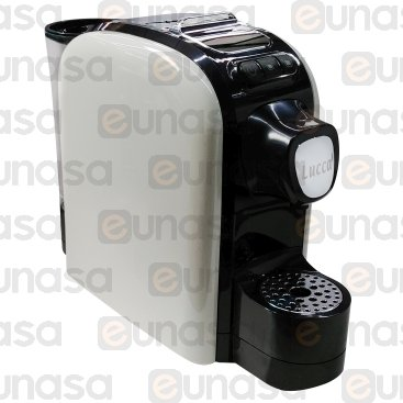 White Capsule Espresso Machine 230V 1100W