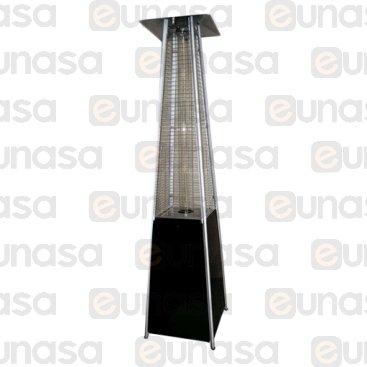 Pyramidal Outdoor Black Gas Patio Heater
