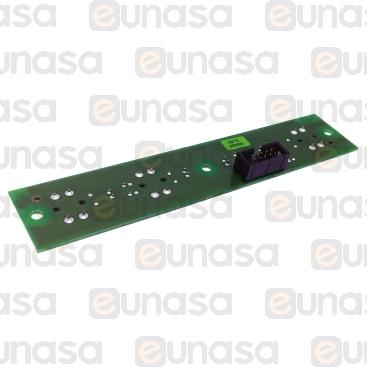 4 Leds 145x30mm Push Button Gicar