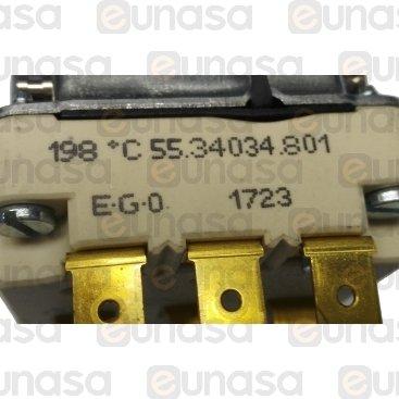 Termostato Freidora 100-195°C 10A 400V