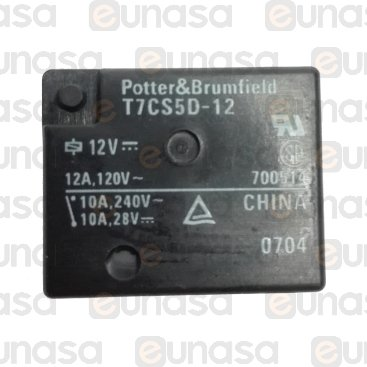 Rele Seguridad 12V Dc Placa RE17-2