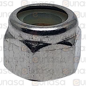 Tuerca Alta Autoblocante Inox M6x8mm DIN-982