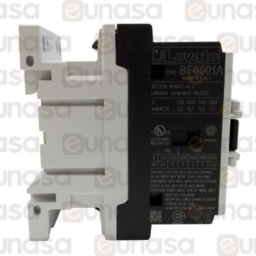 Contactor 230V 9A 3NO 1NC 50/60Hz
