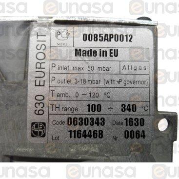 Válvula Eurosit 630 100/340ºC Horno