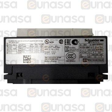 Contactor 3NO/1NC/1NO AC3 400V 4kW LC1D09V7