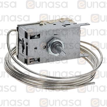 Termostato -10/-34ºC Capilar 1500mm
