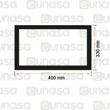 Door Gasket Oven 330x400mm H3