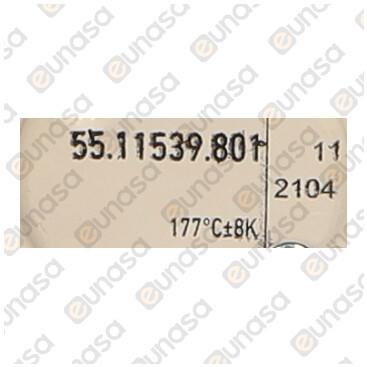 Termostato Sicurezza 170ºC 16A 1 Polo
