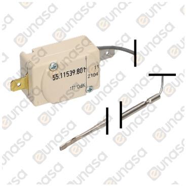 Termostato Seguridad 170ºC 16A 1 Polo