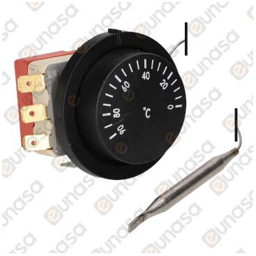 Thermostat 0-120ºC 16A 230V