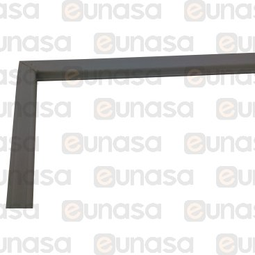 Burlete 713x648mm Pvc Gris